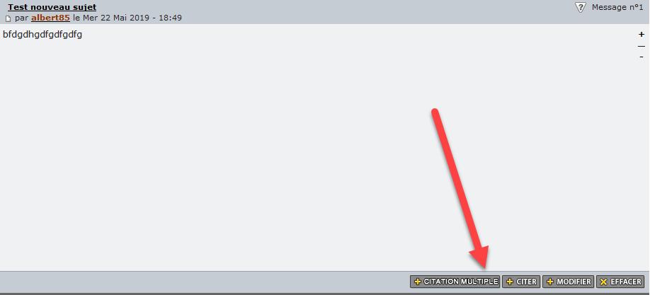 """[INVISION]Afficher les boutons """" éditer, citer, supprimer, etc ... """" sous forme de texte 0113"""