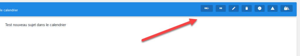"""[AWESOMEBB] Afficher les boutons """" éditer, citer, supprimer, etc ... """" sous forme de texte 0116"""