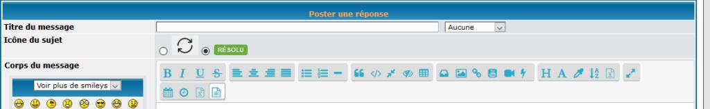 [TOUTES VERSIONS]Remplacer les icônes de l'éditeur par des icônes FontAwesome 210