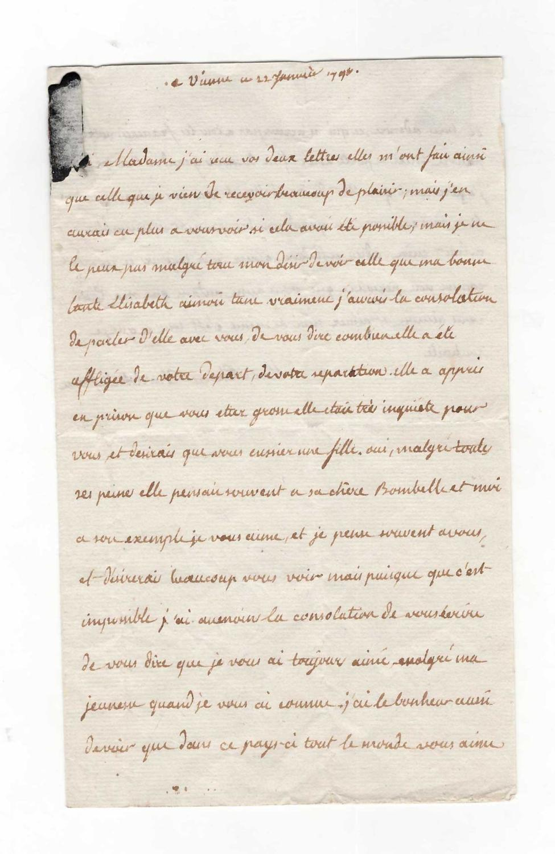 Ecrits de Marie Thérèse Charlotte, Madame Royale 30437910