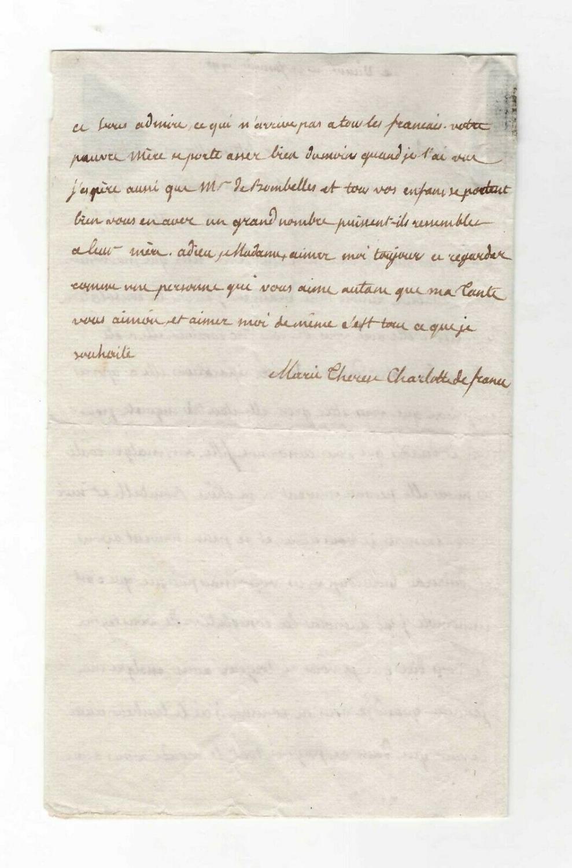 Ecrits de Marie Thérèse Charlotte, Madame Royale 30437911