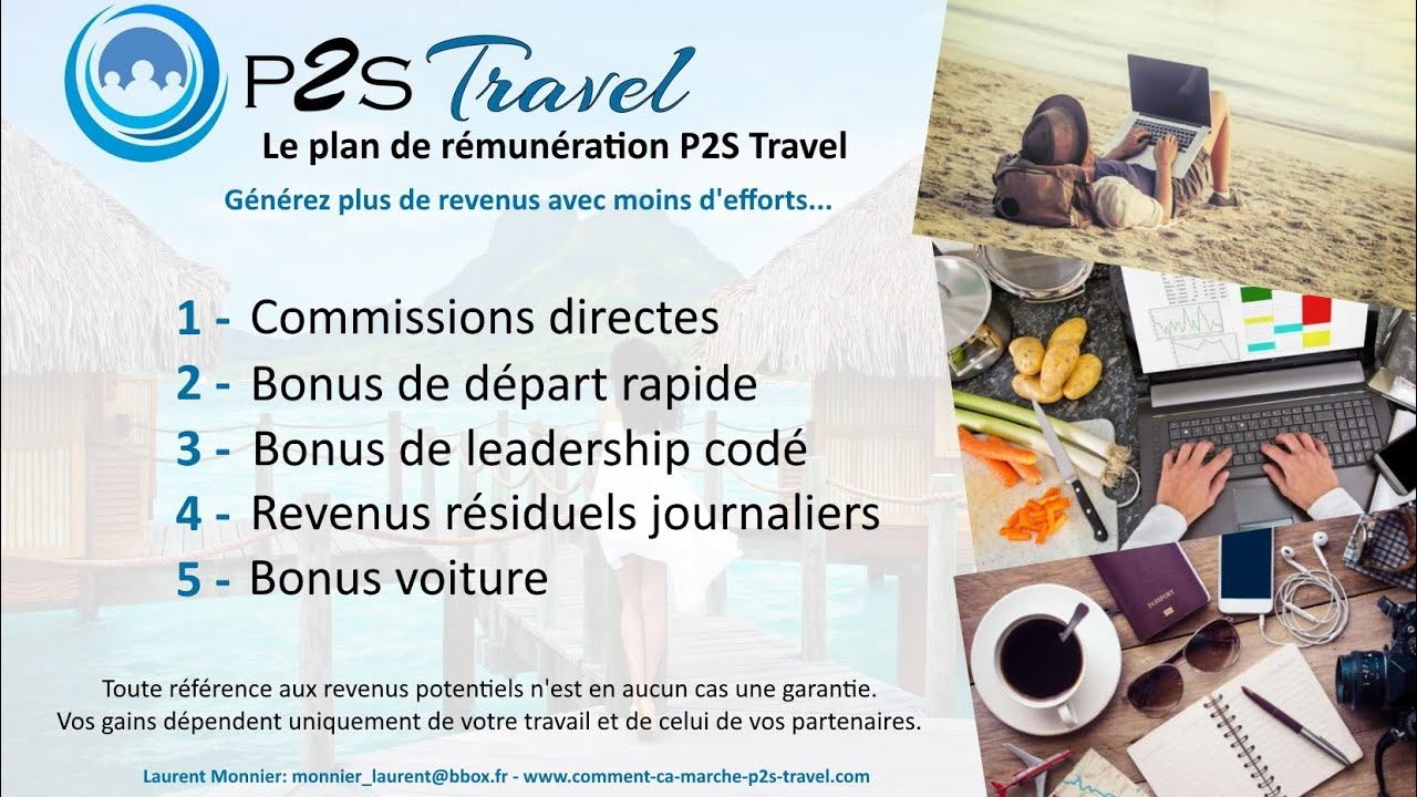 P2S Travel - Network by Léa Bonus10