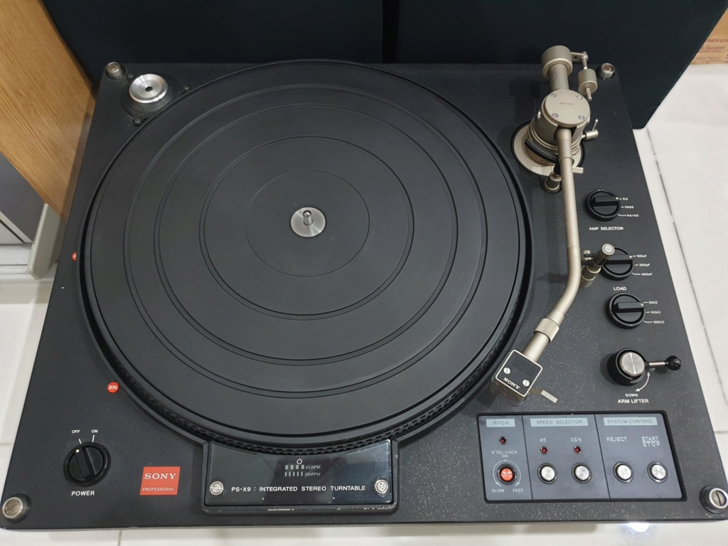 Remove. Sony PS-X9 Professional Broadcast Turntable Sony_p12
