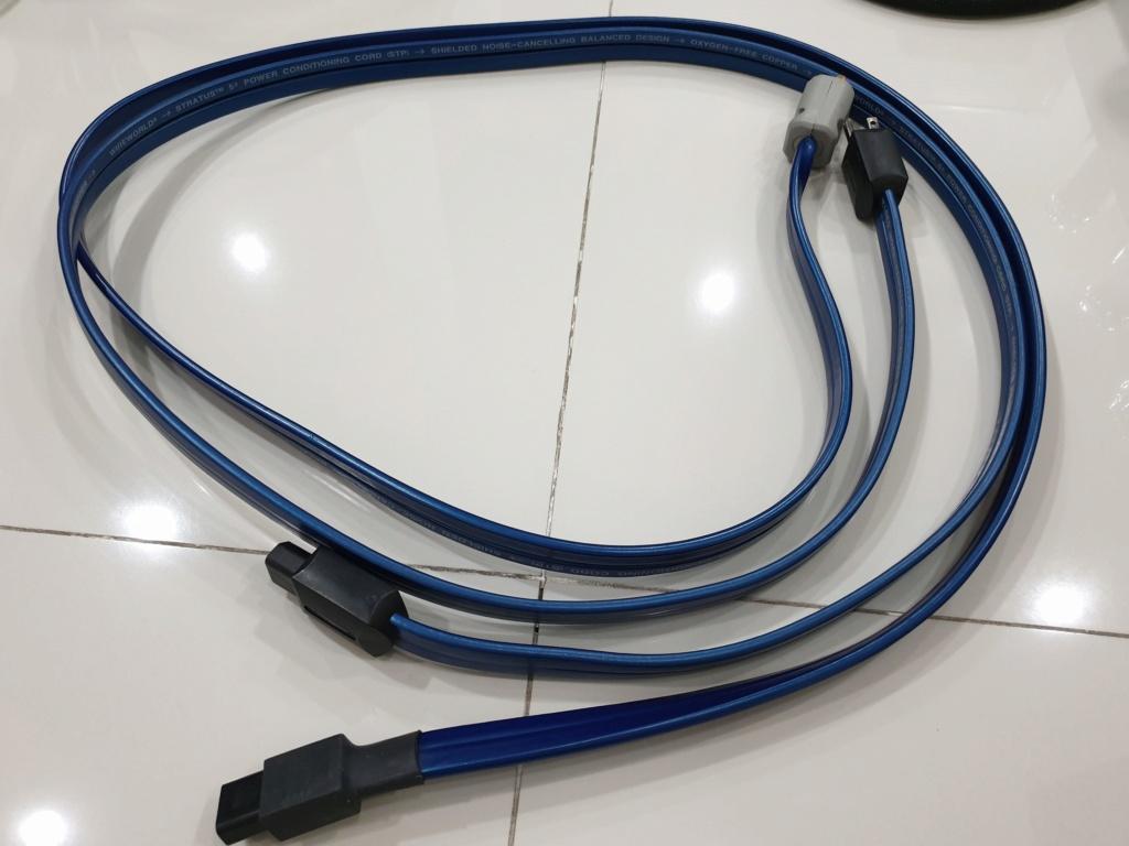 Wireworld Stratus 5.2 Power conditioning Power Cord Wirewo12