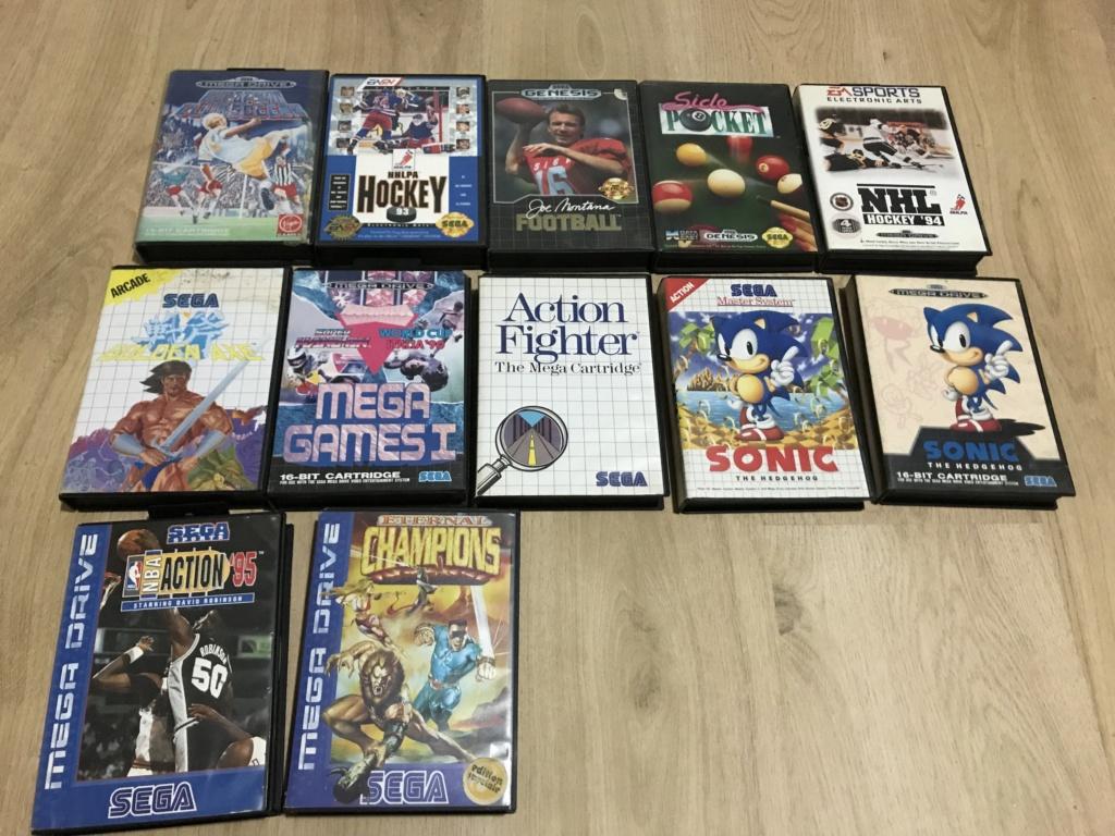 [VDS] Lot de jeux Sega  84449110