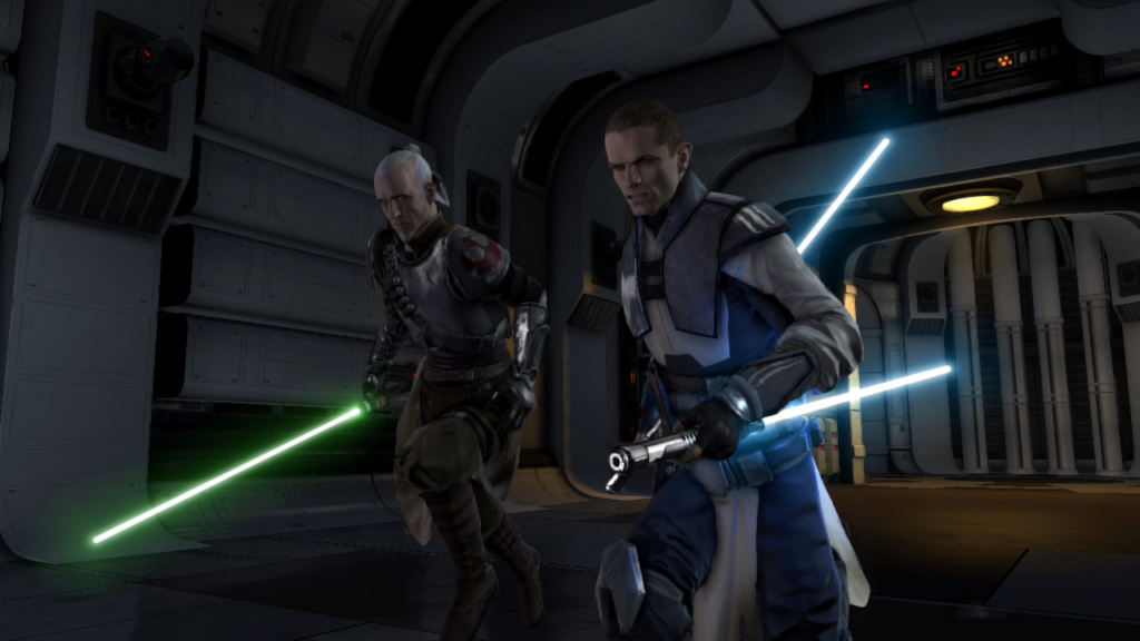 Starkiller and Rahm Kota vs Darth Caedus and Kyle Katarn F3f41a10