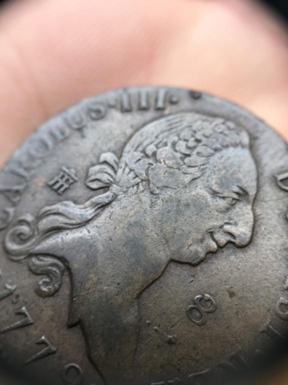 8 Maravedies Carlos III 1772, Segovia 2dc87810