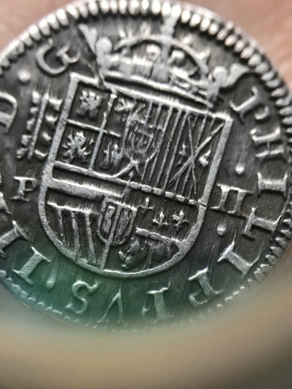 2 Reales Felipe IV 1627 Segovia P 36f5fb10