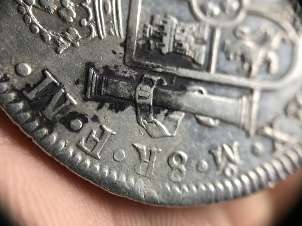 8 Reales Carlos IV Mexico 1797 - Duda sobre conservación 48273111