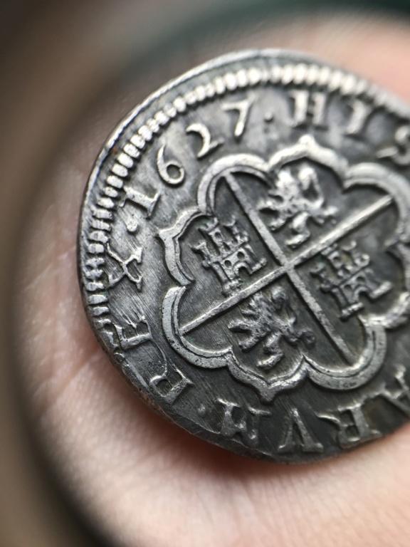 2 Reales Felipe IV 1627 Segovia P A0332411