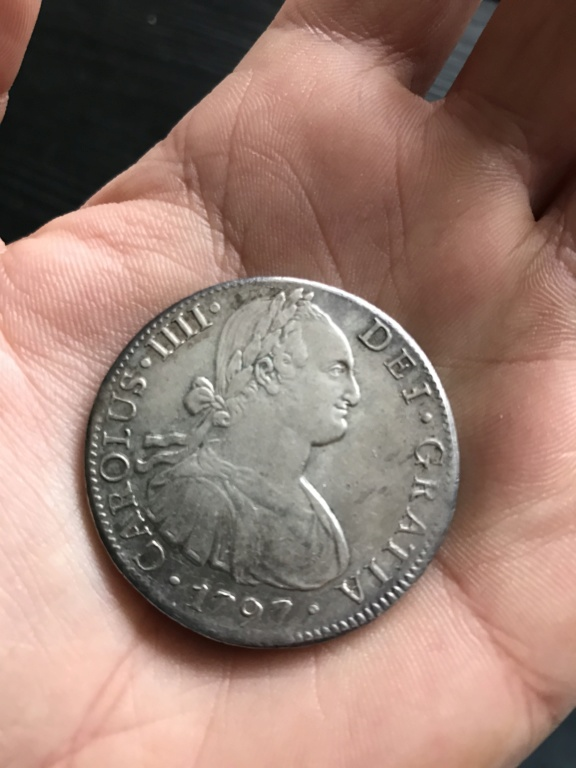 8 Reales Carlos IV Mexico 1797 - Duda sobre conservación Fcf97210