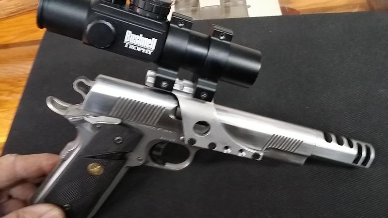 WTS Caspian Race Gun 45ACP Reduced!!! 00210