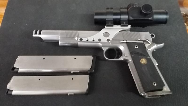 WTS Caspian Race Gun 45ACP Reduced!!! 00310