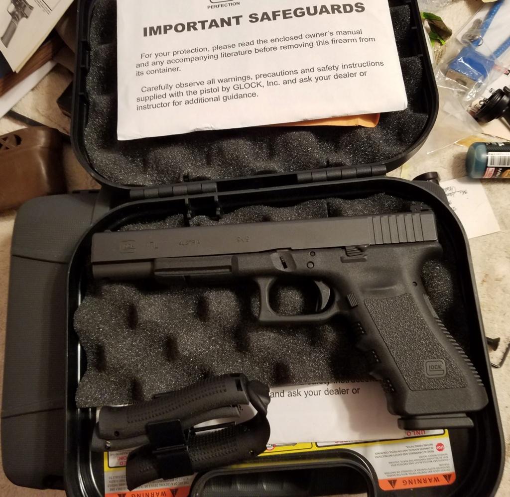 SOLD!  Glock 17L  9mm 20200311