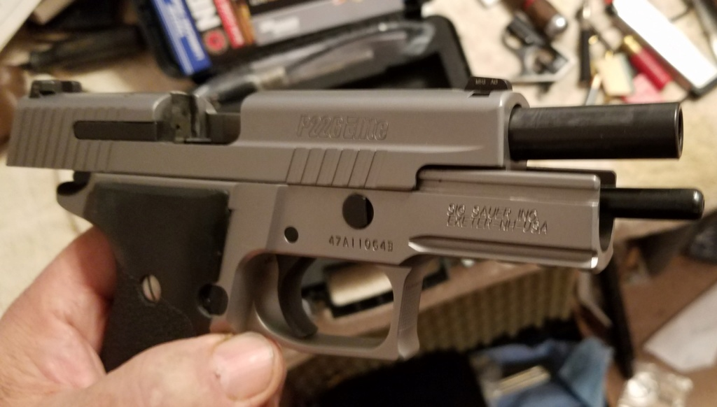 SOLD!!!  Sig Sauer Elite Stainless 9MM 20200313