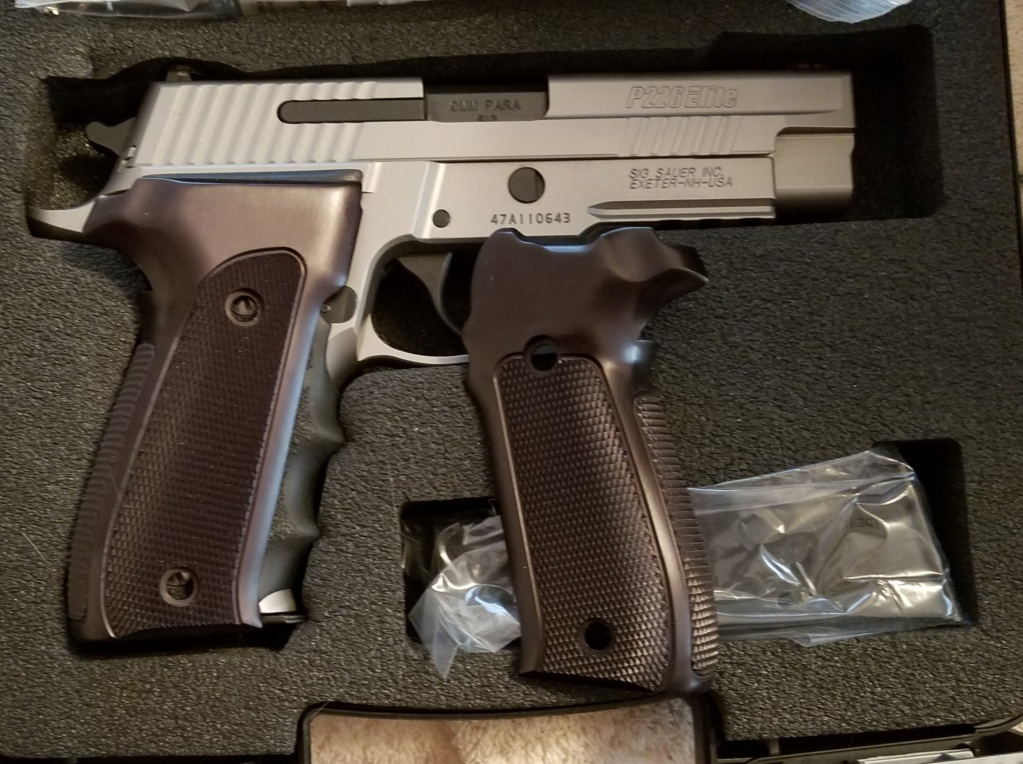 SOLD!!!  Sig Sauer Elite Stainless 9MM 20200320