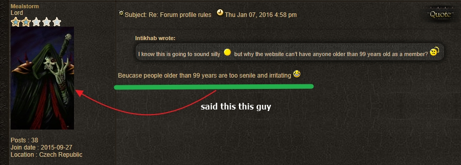 Forum profile rules Old10