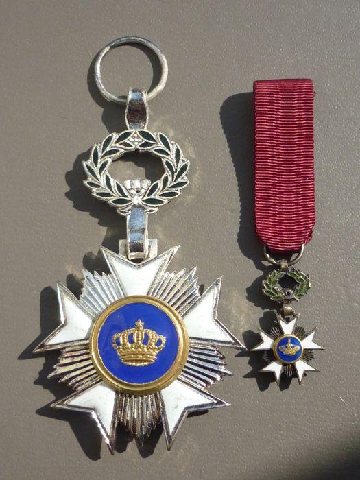 """Chevalier de l'Ordre de la couronne Belge """"spécial"""". 3afa7610"""