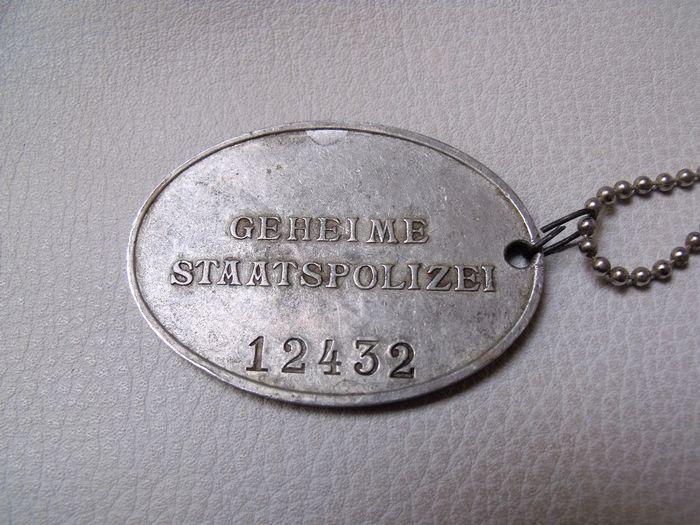 Plaque Police Allemande 7368e710