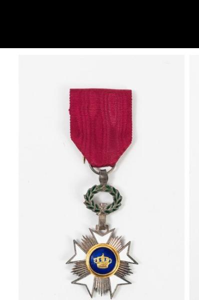 """Chevalier de l'Ordre de la couronne Belge """"spécial"""". Tzolzo11"""