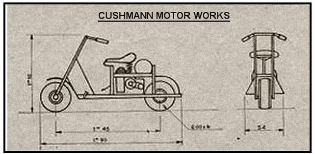 LE SCOOTER CUSHMANN M53A Cushma28