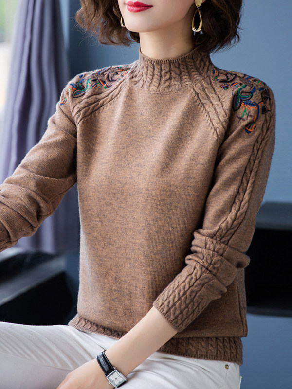 Jazz up your winter with women's cashmere sweaters -2u68a10