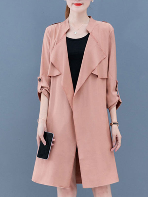 Look Jaw-Dropping In Women's Trench Coats -2ue4110
