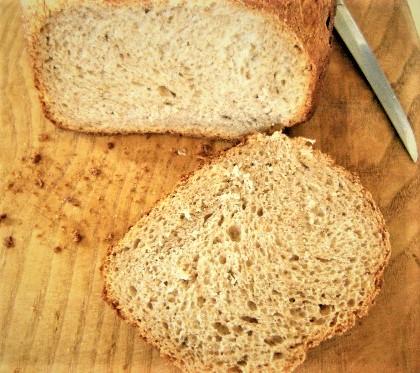 Домашний хлеб с цельнозерновой мукой, кумином и картофелем Aaauo_10