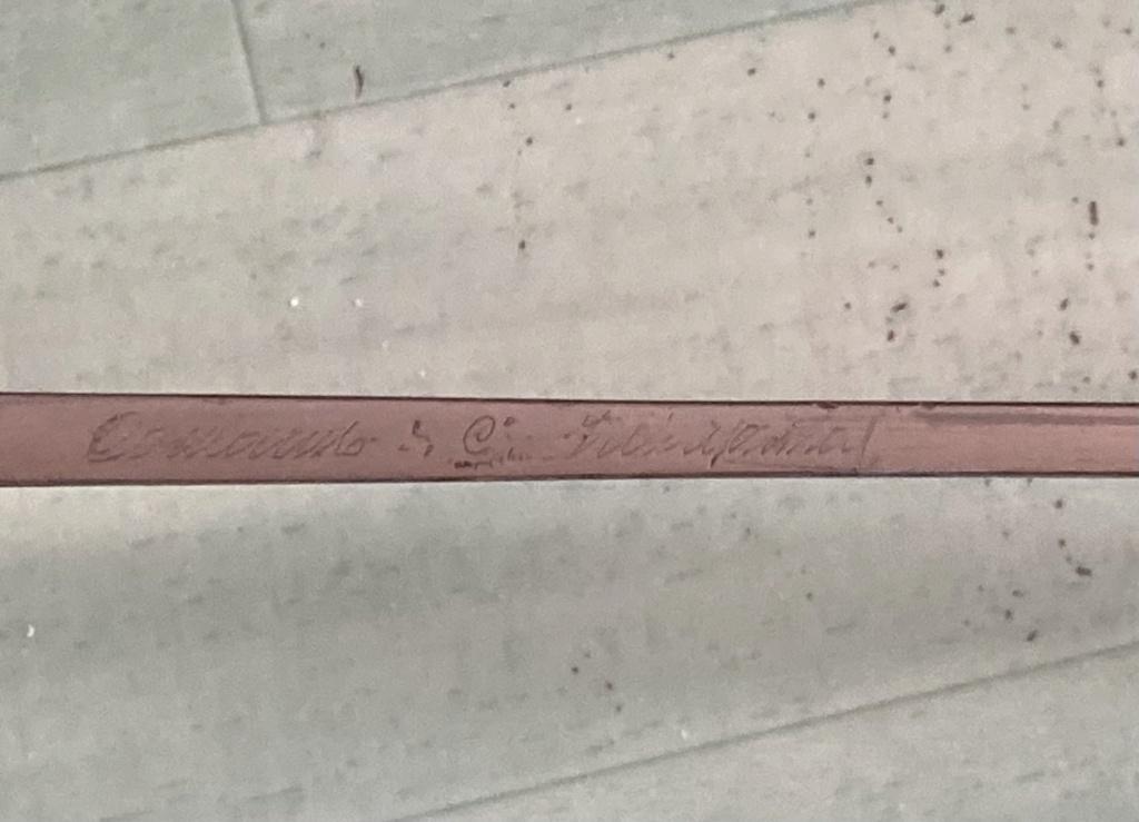 Identification sabre 9ffe7510