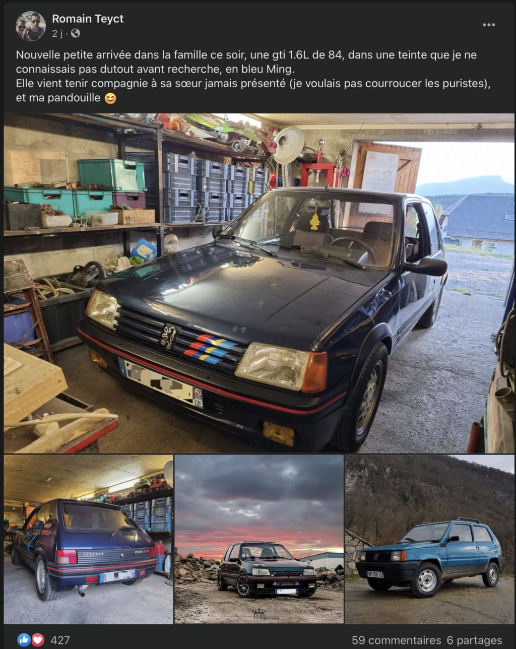 une autre 205 GTI Bleu Ming ? Captur10