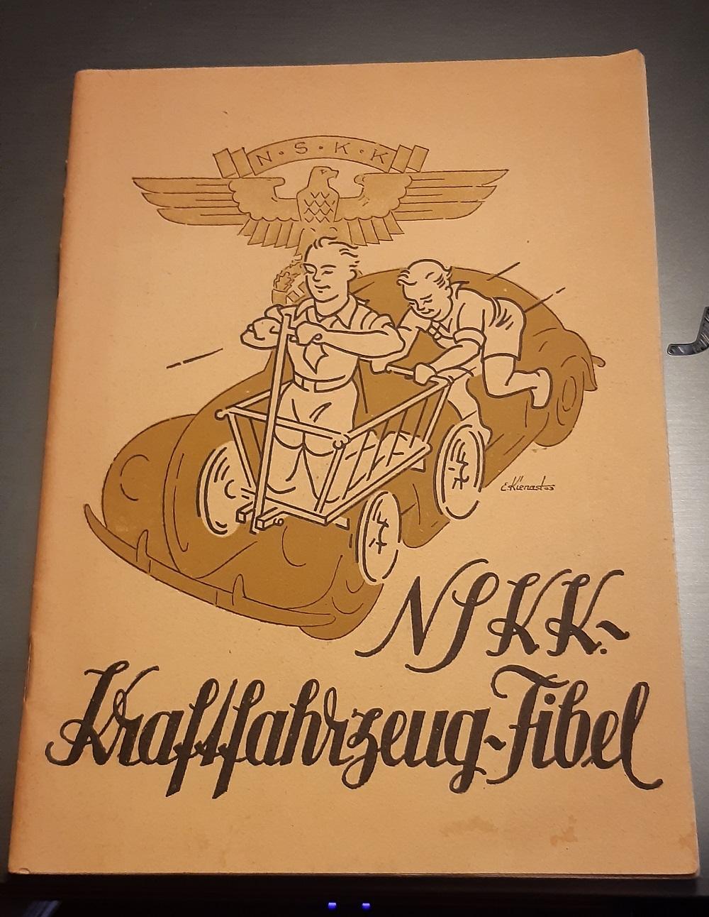 livre NSKK kraftfahrzeug fibel Nskk10