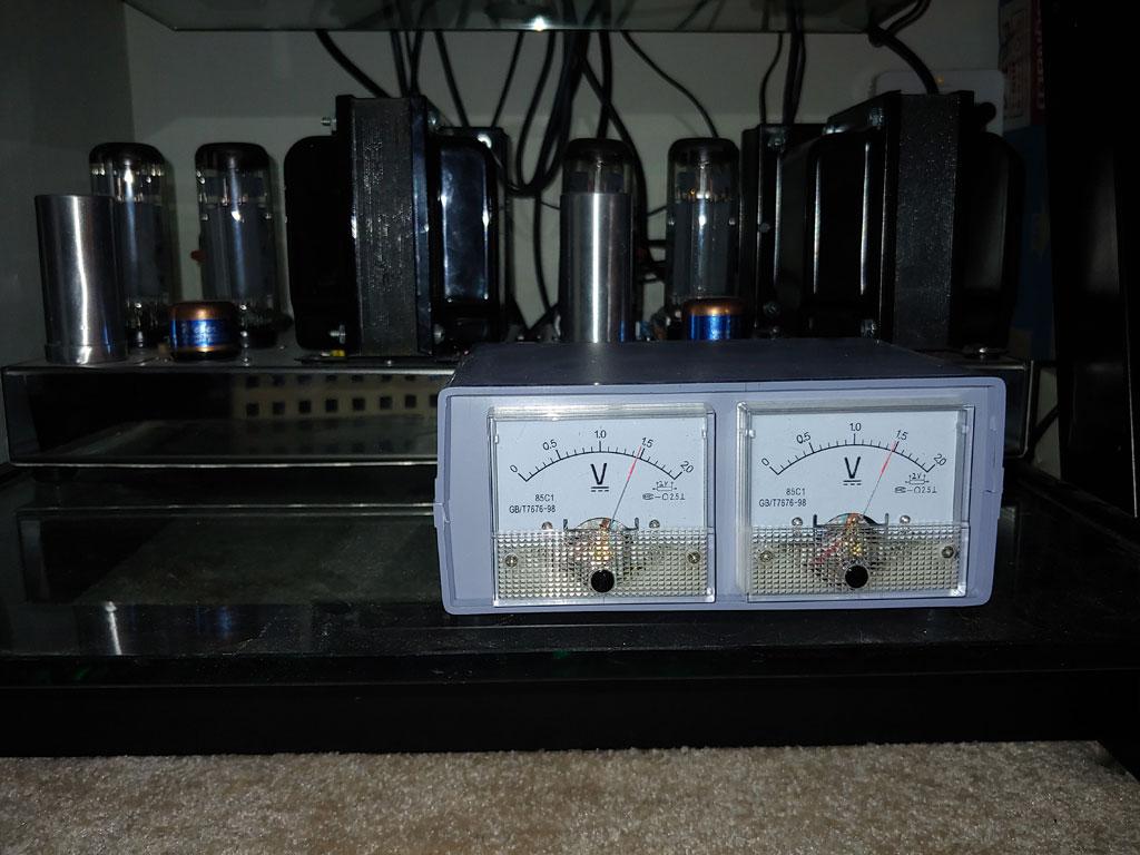 Analog Bias Meters For The VTA ST-120 Meter010