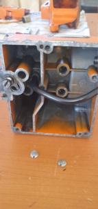 Oleomac 233 smontaggio carter pistone 20210310