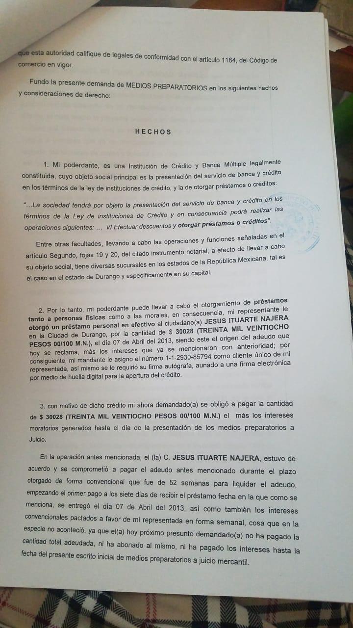 demanda banco azteca  Whatsa16