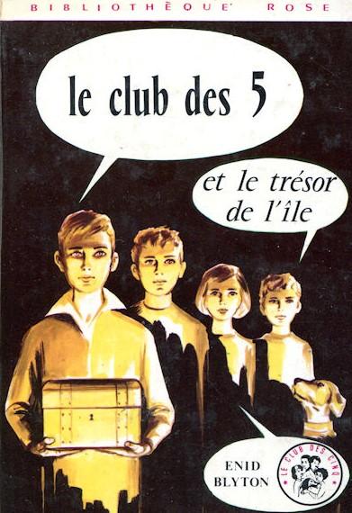 [Blyton, Enid] Le club des 5 et le trésor de l'île Club_510