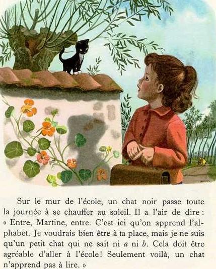 [Delahaye, Gilbert & Marlier, Marcel] Martine à l'école Zocole12