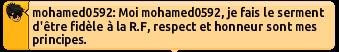 [P.N] C.V de Mohamed0592 Rf10