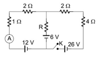 Circuito e Leitura de amperímetro. Captur12