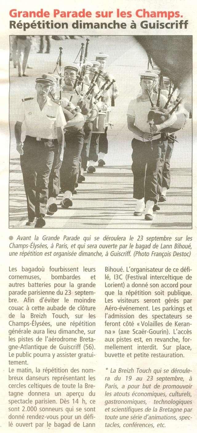 [La musique dans la Marine] Bagad de Lann-Bihoué - Page 4 Numeri23