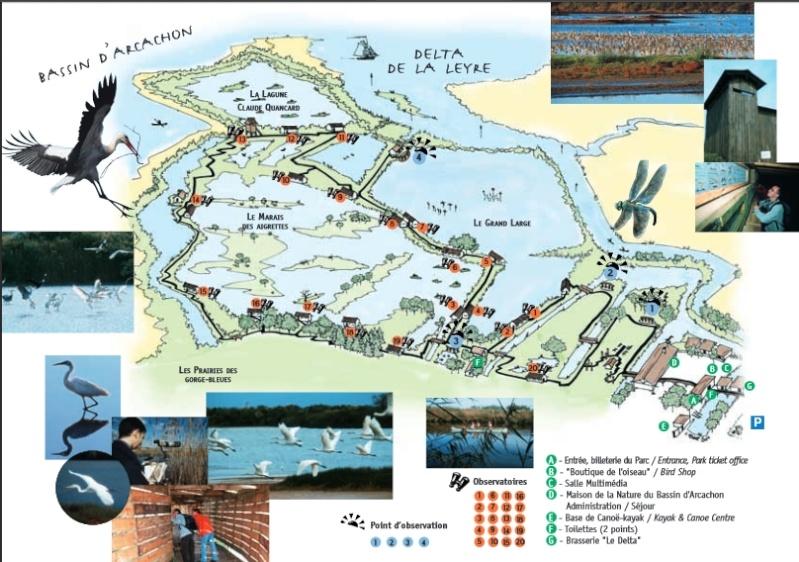 Réserve Ornithologique du Teich Carte10