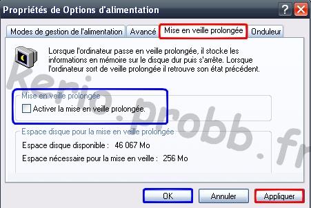 Gagner de l'espace disque sous Windows XP Hiperf10