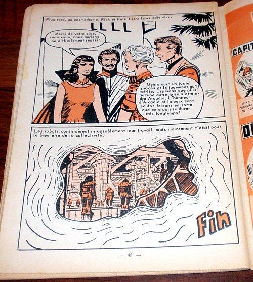 ARTIMA: vignettes mystérieuses Meteor10