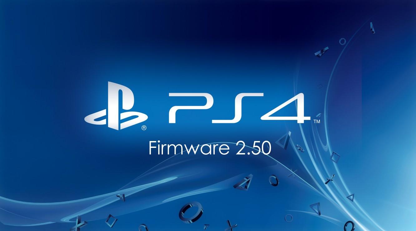 PlayStation 4 : la mise à jour 2.50 sera déployée demain matin Firmwa10