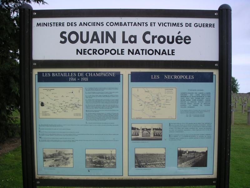 Nécropole Souain La Crouée 2710