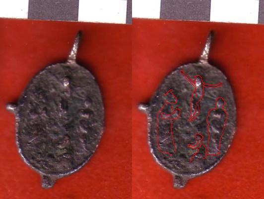 virgen del Rosario / virgen del Pilar - s. XVII-XVIII Scan1013