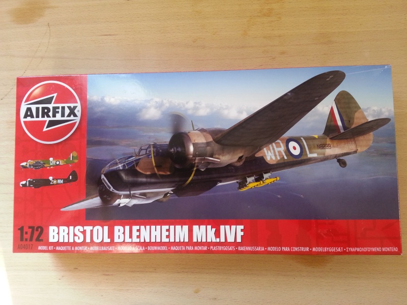 [Airfix] - Bristol Blenheim Mk.IVF  Blenhe10
