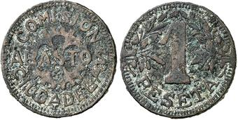1 peseta P.Monserrat de Ciudadela (Menorca) Comisi10