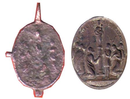 virgen del Rosario / virgen del Pilar - s. XVII-XVIII Pilarx10