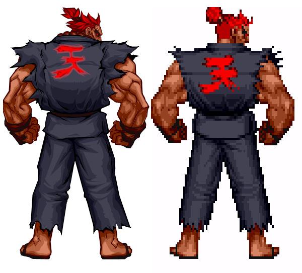 Dans la famille Street Fighter je voudrais le grand père Me000010