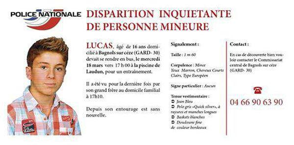 Gard : disparition inquiétante d'un adolescent de 16 ans à Bagnols-sur-Cèze Xvm71c10